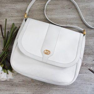 Gucci GG Monogram White Crossbody Bag
